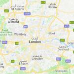 خريطه لندن