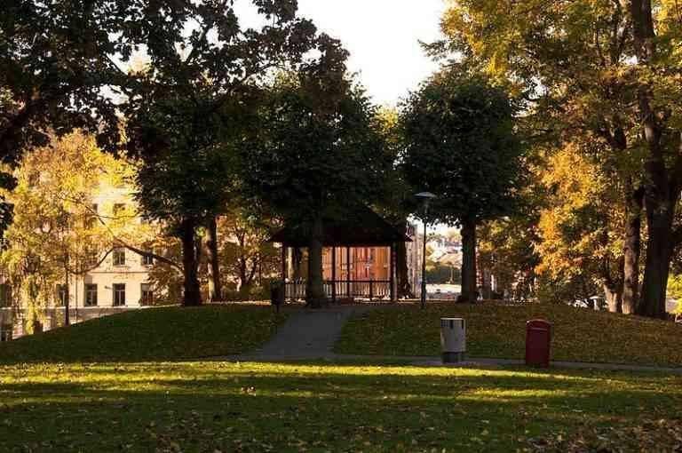 الحدائق والمتنزهات فى السويد