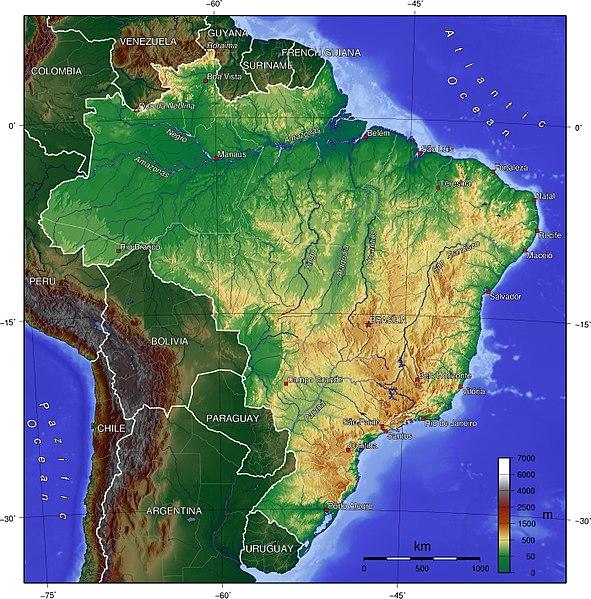 ماهى عاصمة البرازيل و خريطة وعلم وعدد سكان البرازيل