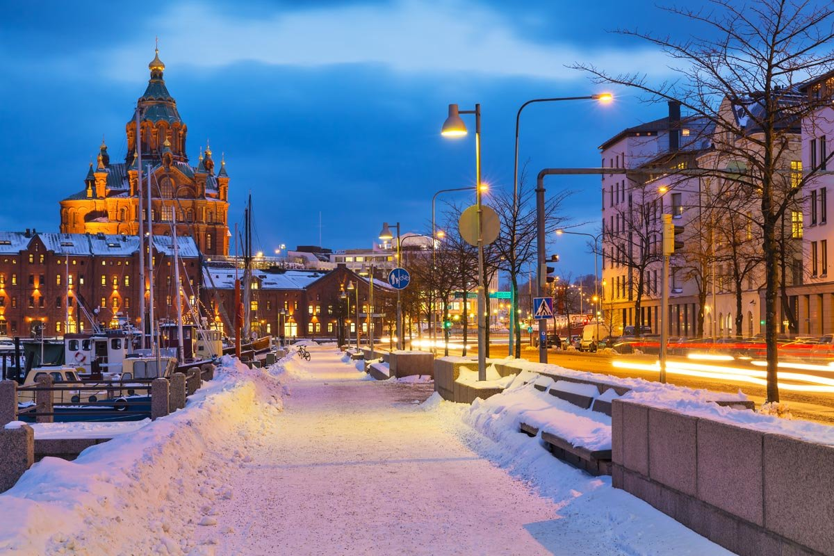 ماهى عاصمة فنلندا و خريطة وعلم وعدد سكان فنلندا
