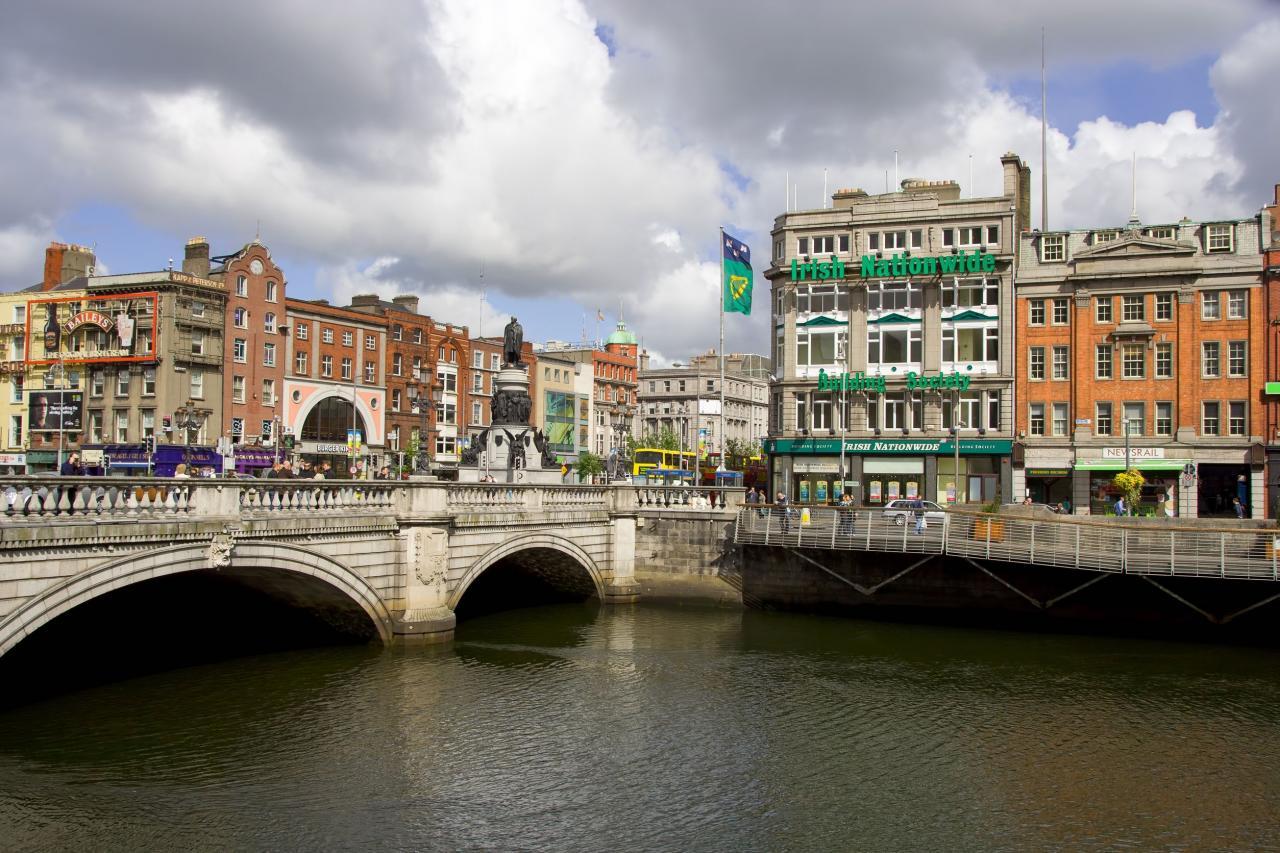 السياحة فى دبلن وأفضل الأماكن السياحية ومراكز التسوق والفنادق فى دبلن