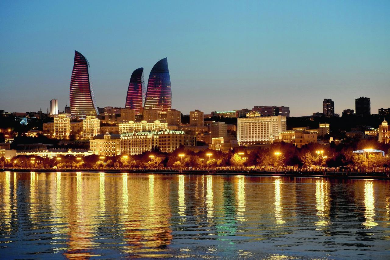 ماهى عاصمة أذربيجان و خريطة وعلم وعدد سكان أذربيجان