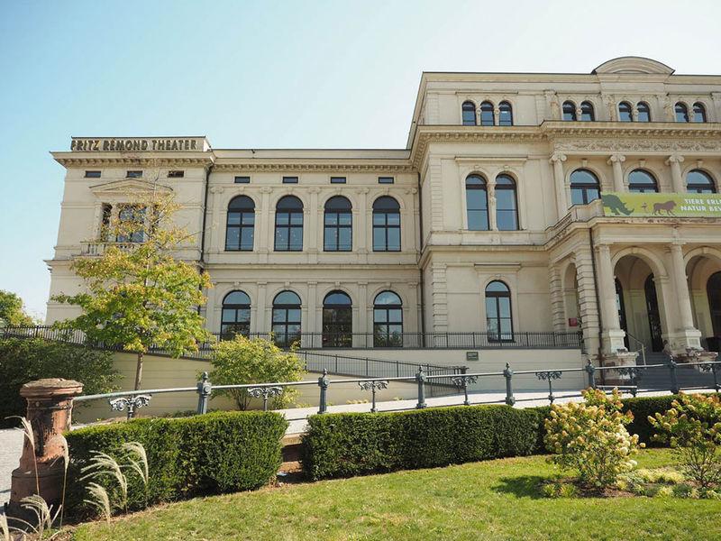 مبني مسرح فريتز ريمون بفرانكفورت ألمانيا