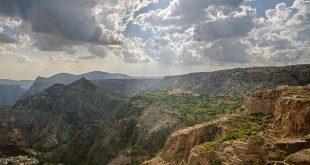 اهم الاماكن السياحية وافضل الفنادق فى الجبل الاخضر فى عمان