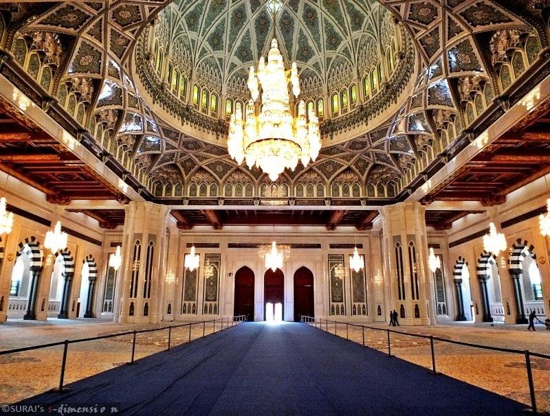 صورة لمسجد السلطان قابوس بمسقط
