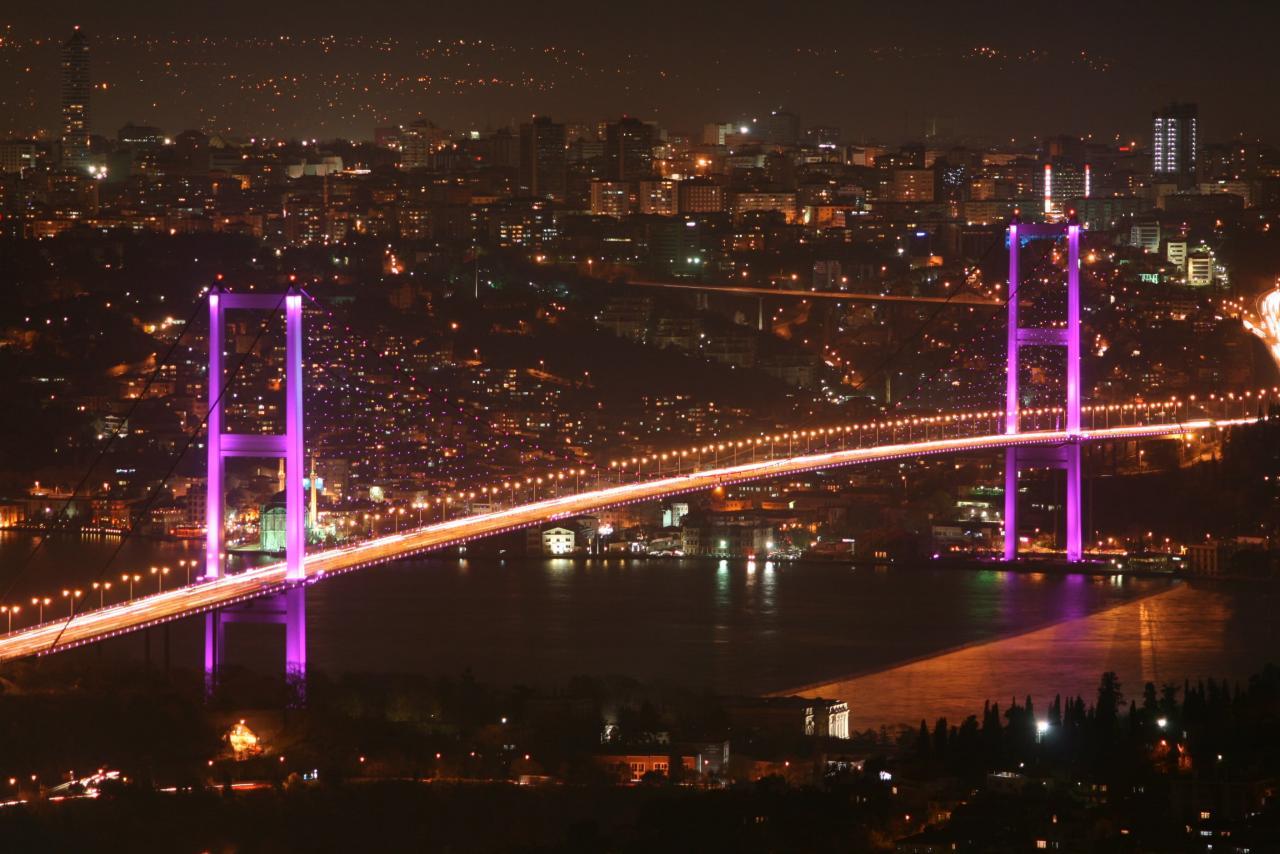 معلومات عن جسر الشهداء باسطنبول