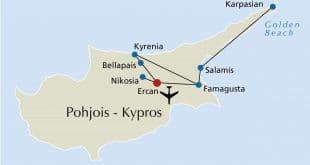 صورى مكانية لقبرص من قمر اصطناعي