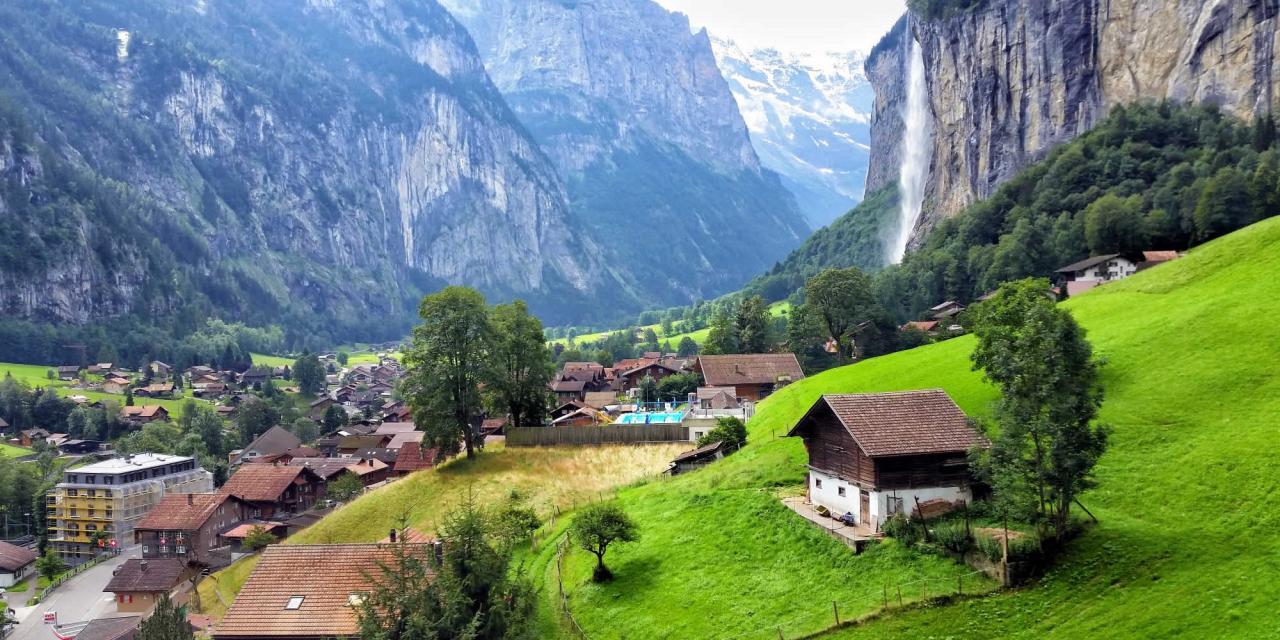 اجمل المناظر الخلابة فى سويسرا