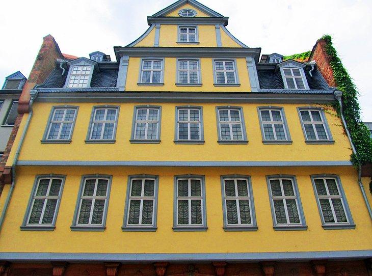 منزل الكاتب الألماني جوتة
