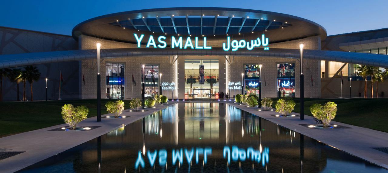 افضل المطاعم والمقاهى والعلامات التجارية فى ياس مول الامارات
