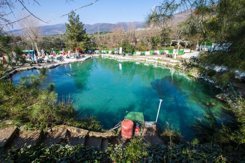 الينابيع الحارة فى تركيا