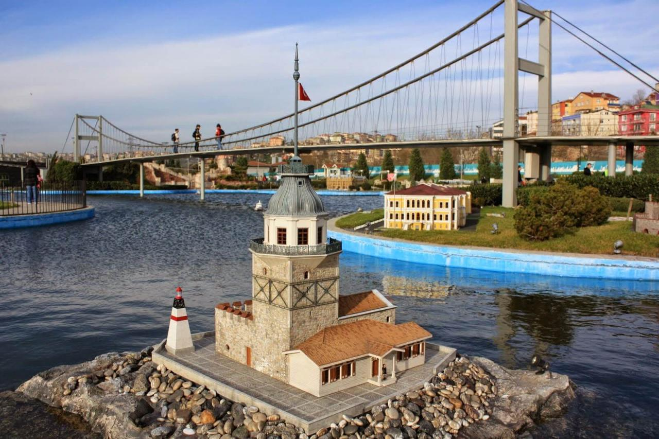 رسوم دخول حديقة مينيا تورك اسطنبول وافضل الانشطة بها