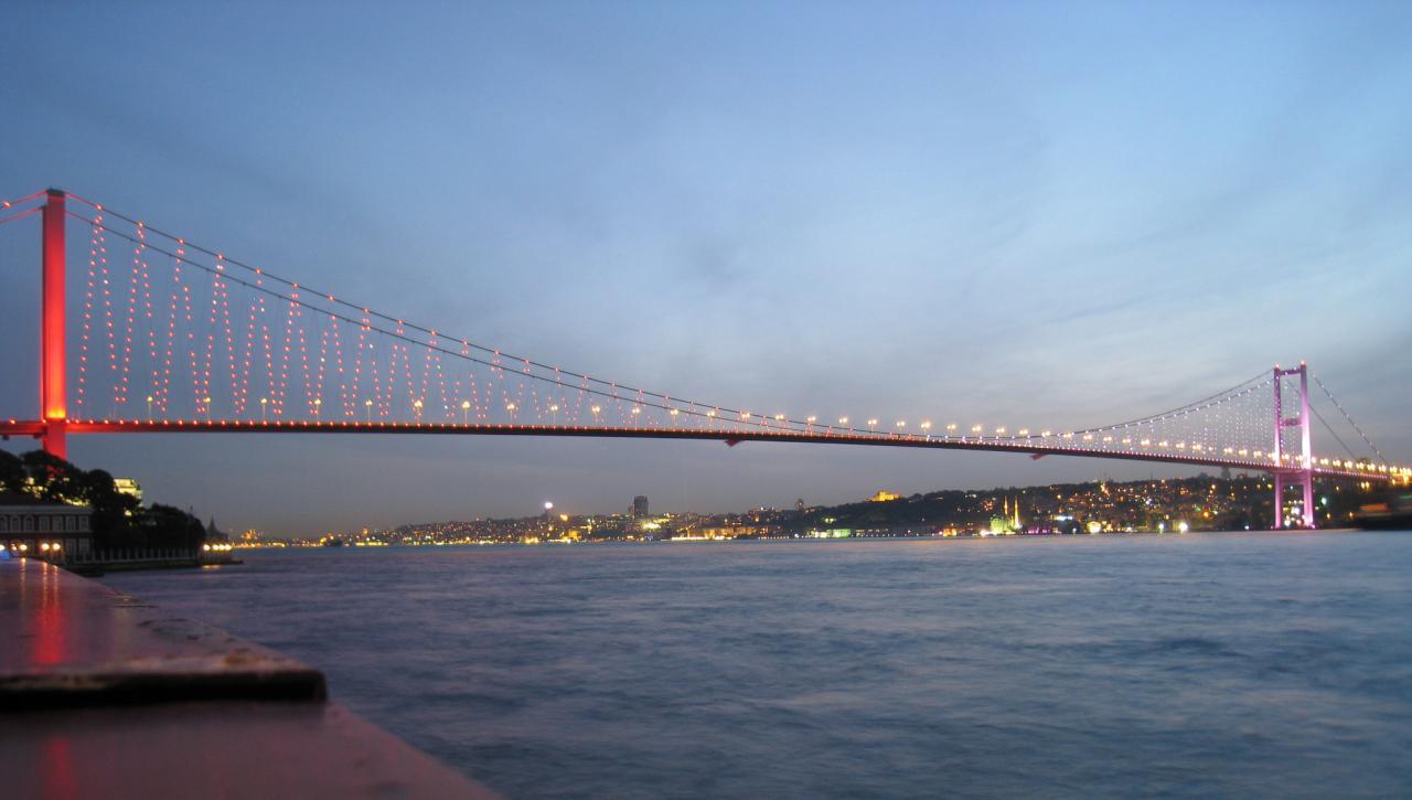 رسوم عبور جسر البوسفور