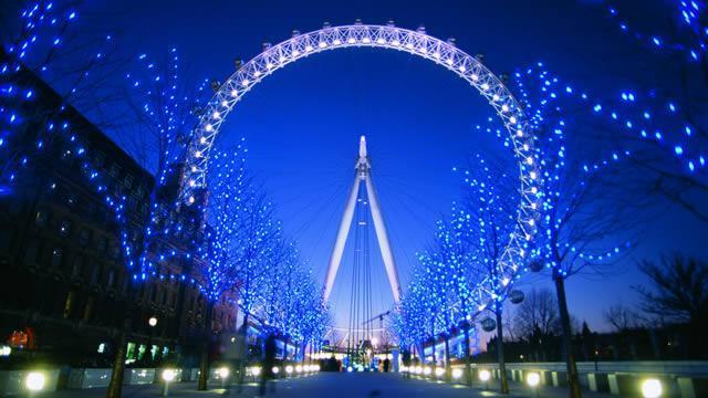 الأماكن السياحية في العاصمة البريطانية