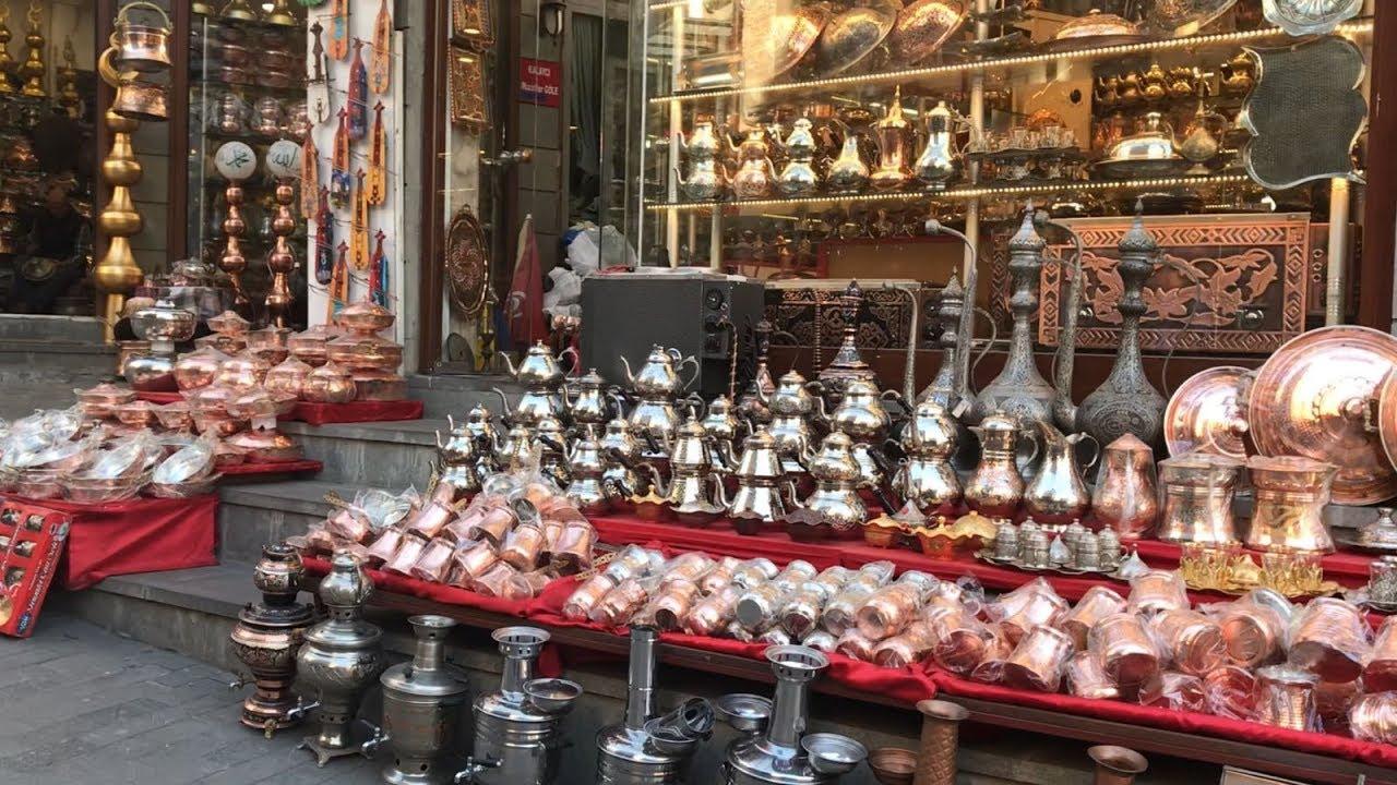 اهم الاسواق فى اسطنبول