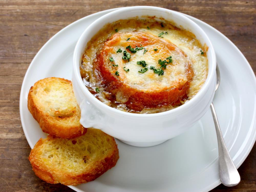 حساء البصل