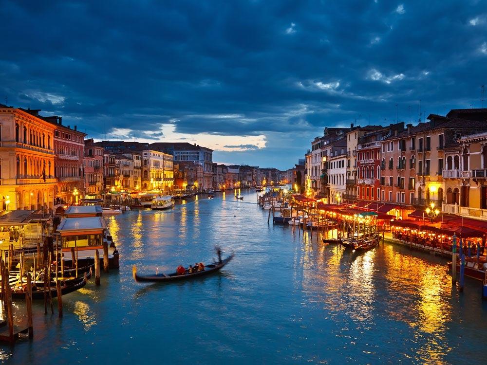 القنال الكبير في فينيسيا