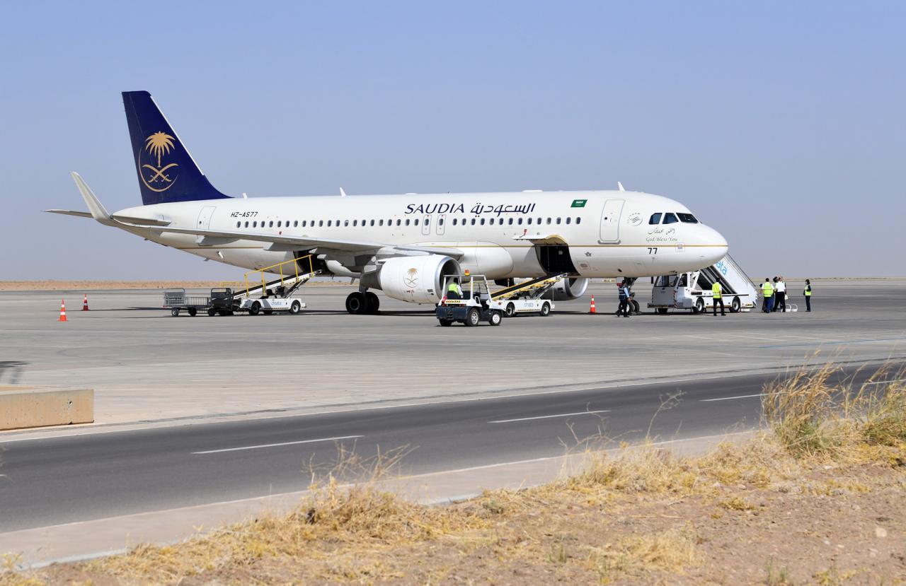 اصدار بطاقة صعود الطائرة للخطوط الجوية السعودية