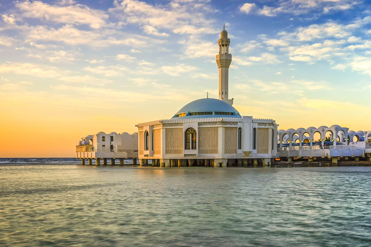 المسجد العائم أو مسجد فاطمة الزهراء
