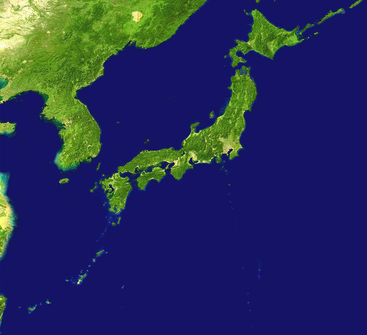 خريطة اليابان صماء