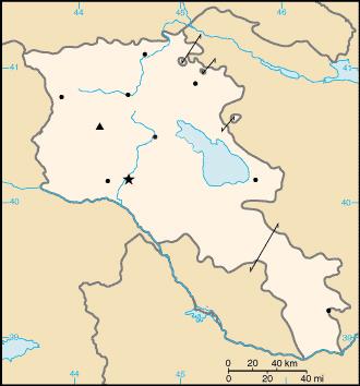 خريطة أرمينيا الصماء