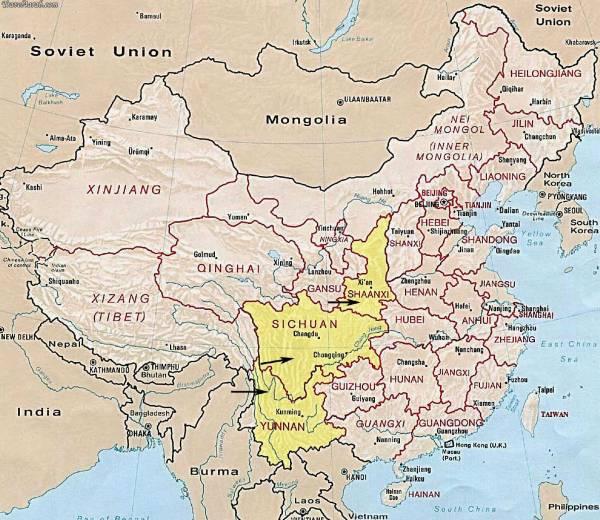 shopping-in-china: خريطة الصين