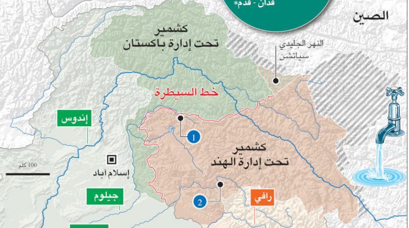 خريطة باكستان كشمير