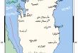 خريطة البحرين بالعربي