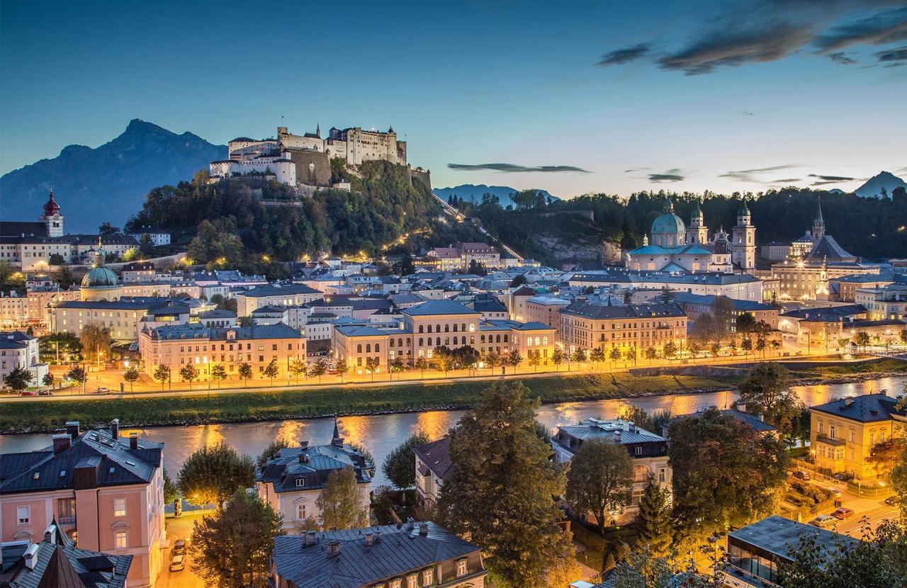 أجذب مدن النمسا السياحية