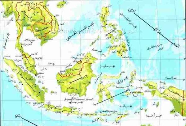 خريطة الفلبين بالتفصيل بالعربي