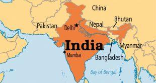 خريطة الهند صماء