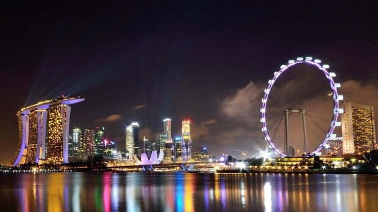 عجلة سنغافورة الطائرة