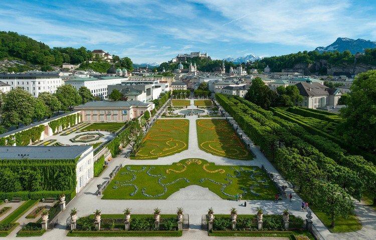 مدن النمسا الجميلة