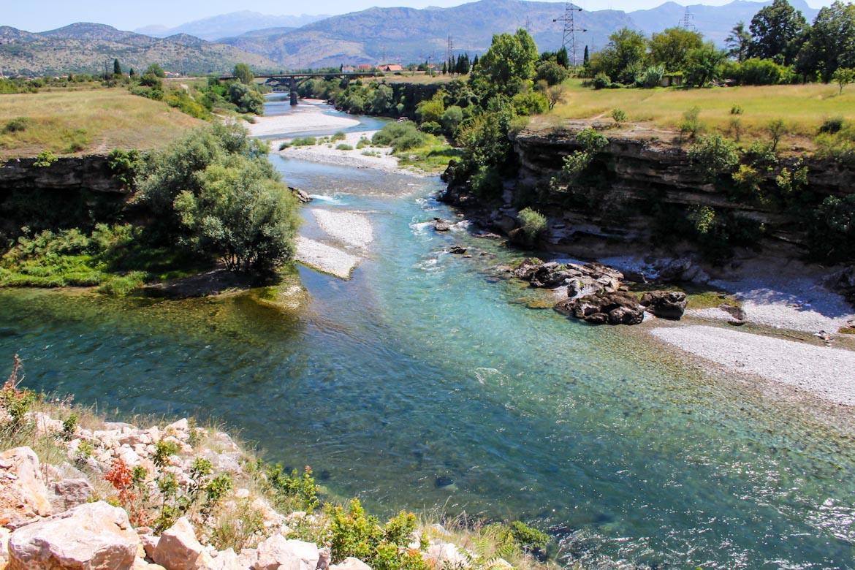 أنهار الجبل الأسود وأوروبا