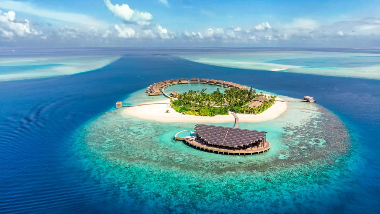 عدد سكان المالديف