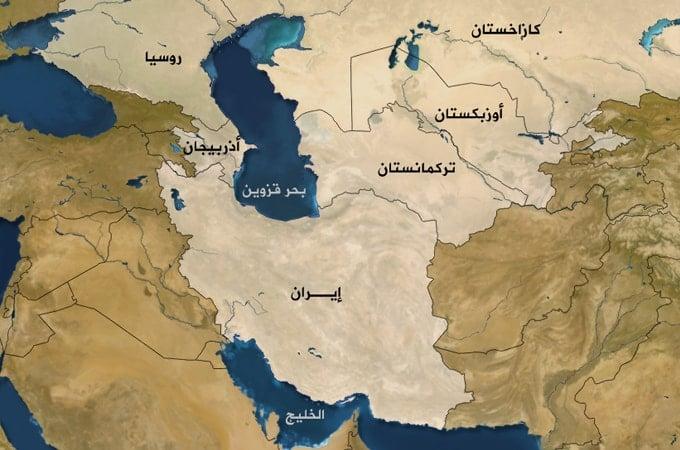 خريطة تركمانستان الصماء