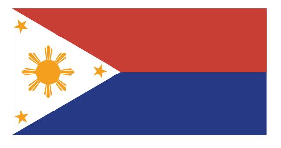 علم جزر الفلبين بين 1941- 1945