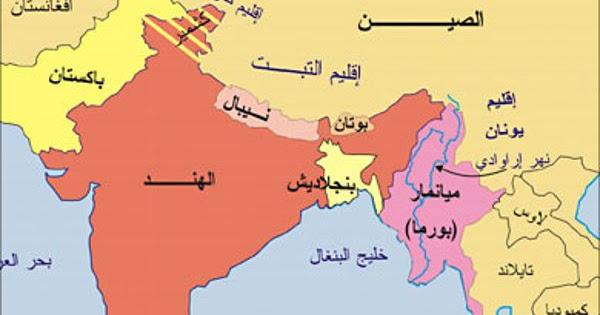 خريطة نيبال الصماء