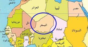 خريطة النيجر الصماء