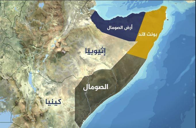 خريطة الصومال الصماء