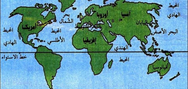 أين تقع مصر في قارة أفريقيا