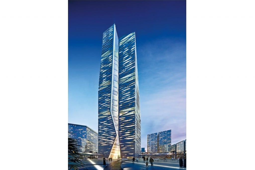 برج التجارة العالمي في الرياض