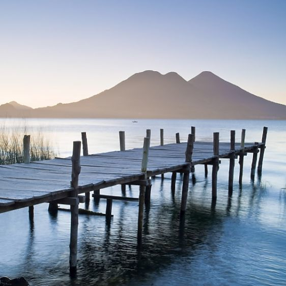 Lake Atitlan, Western Highlands, Guatemala, Central America #14647338