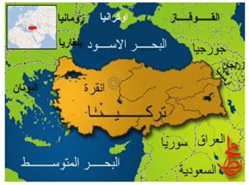 خريطة تركيا اسطنبول