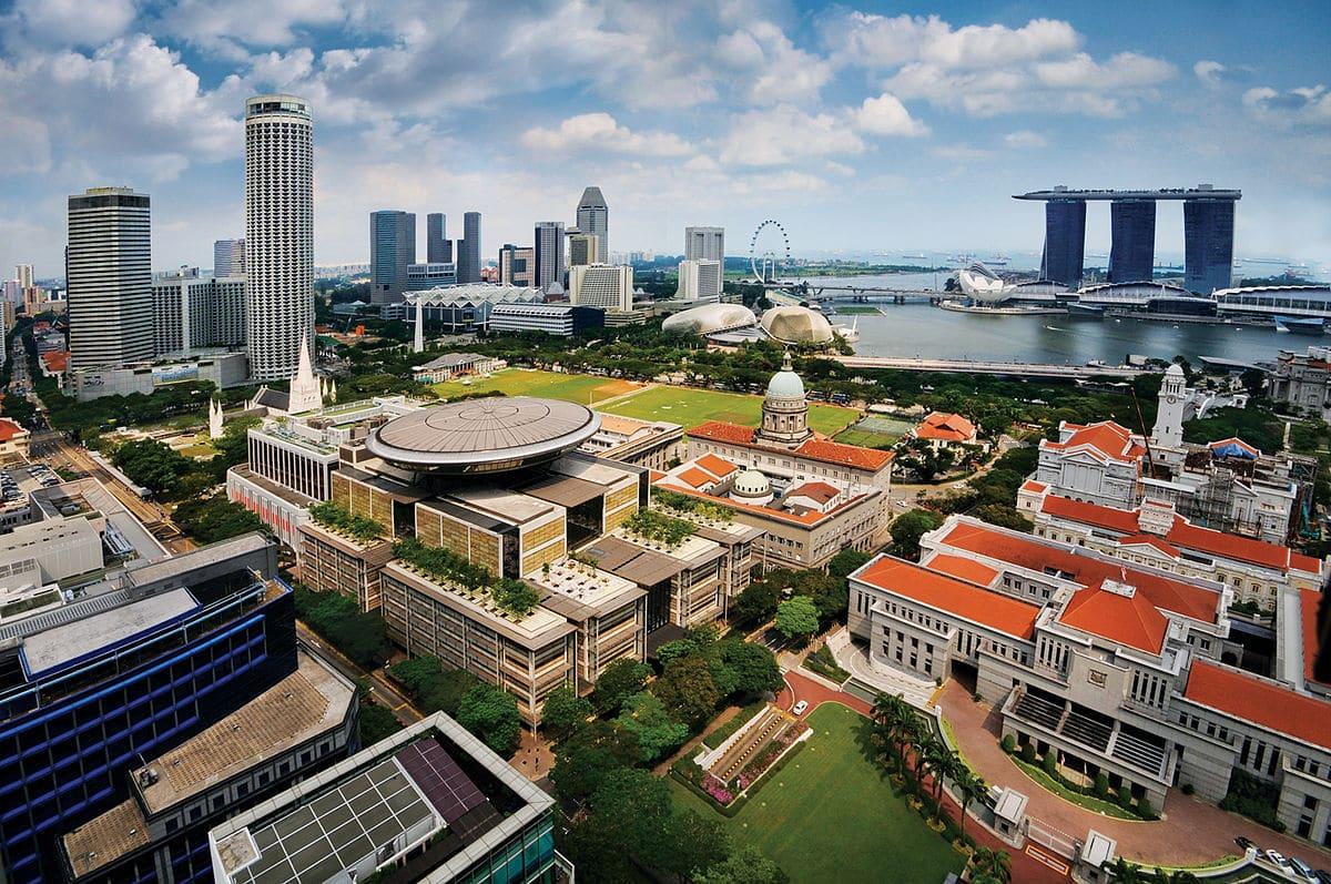 معالم عاصمة سنغافورة