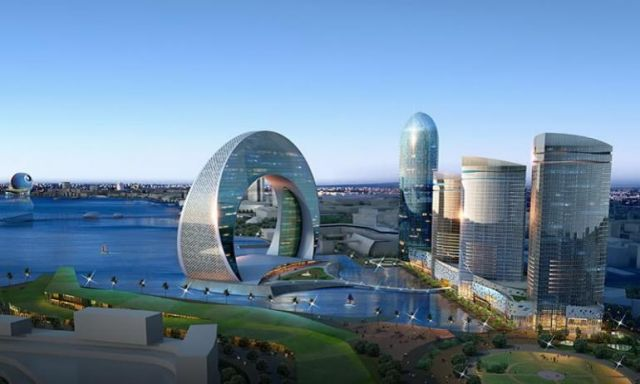 تاريخ عاصمة أذربيجان باكو