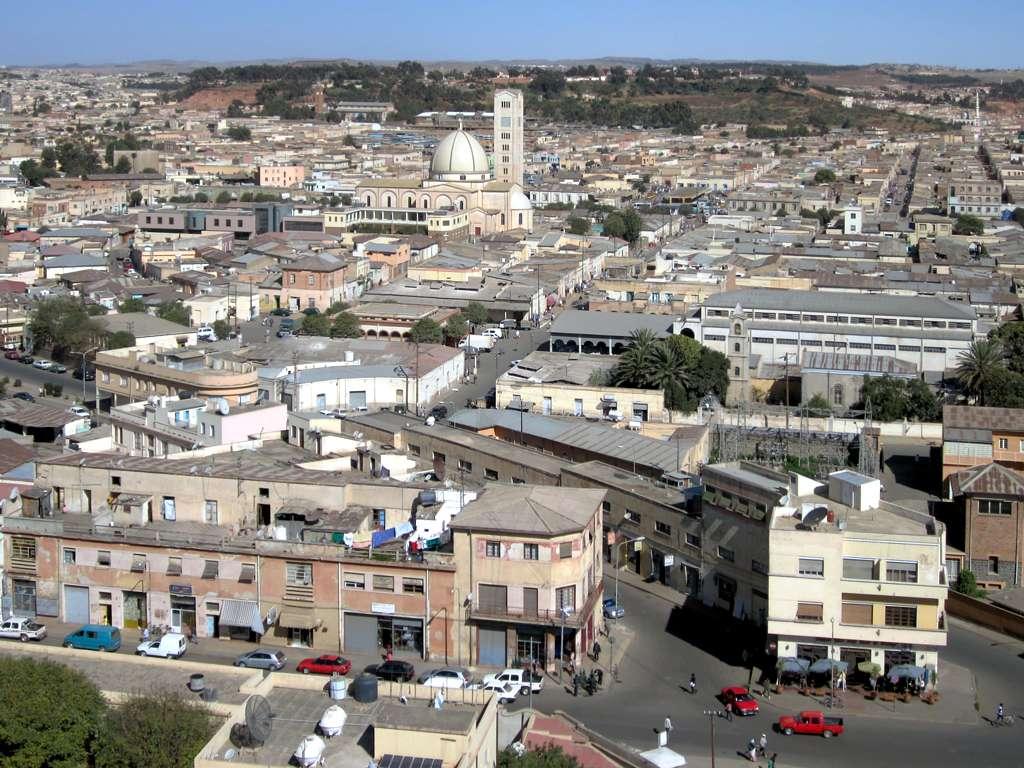 أسمرة عاصمة إريتريا