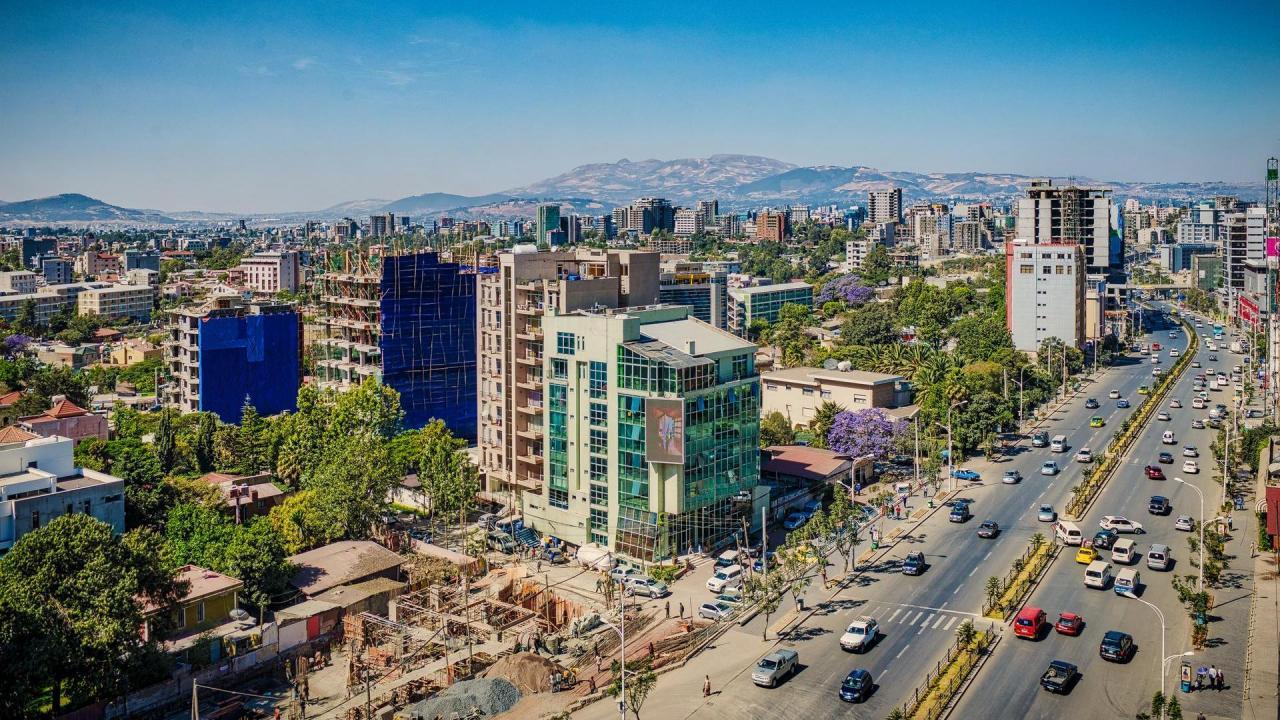 أديس أبابا عاصمة إثيوبيا