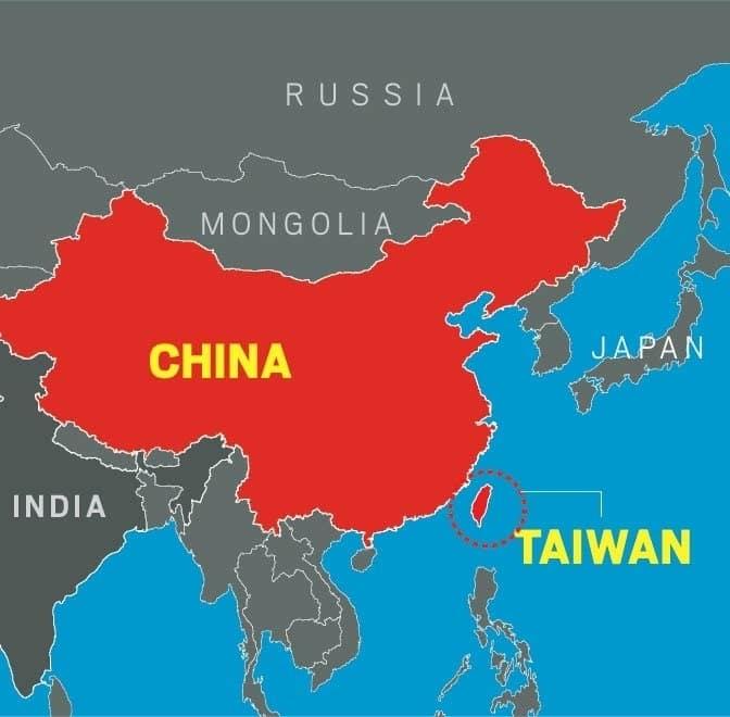 تايوان والصين