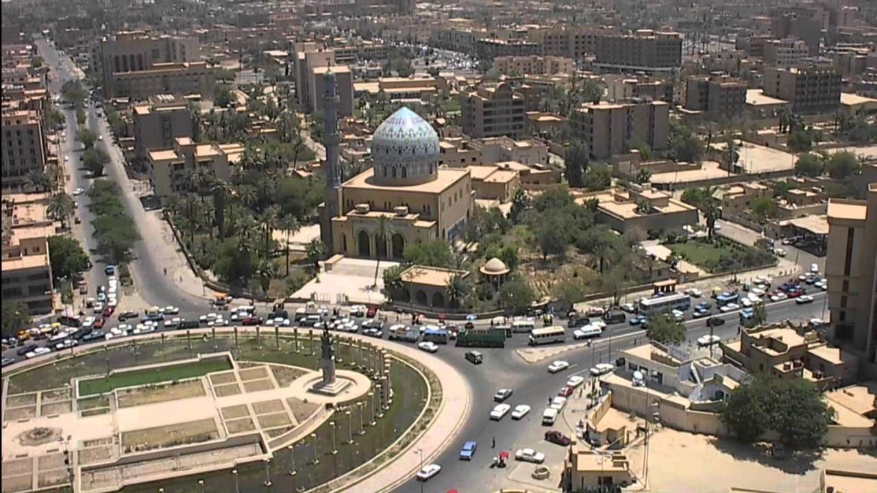 عاصمة العراق بغداد
